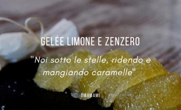 Gelée limone e zenzero, la ricetta Caso Design