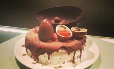 Torta pancake ispirata alla Pasqua- crepiera Caso Design